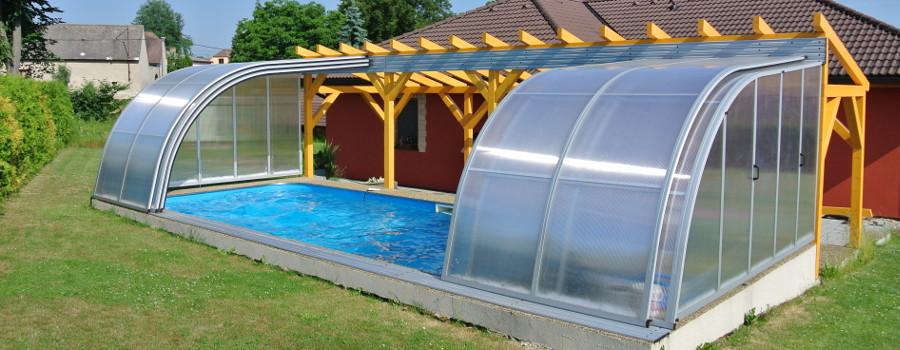 Zastřešení bazénů Poolor